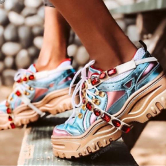 b3d825f0c67 Chunk Fever Women Cape Robbin MultiGem Dad Sneaker
